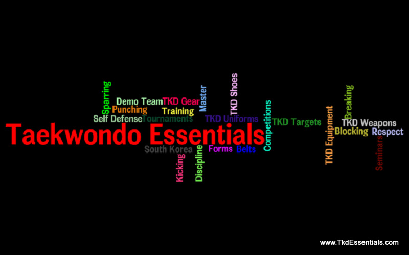 TKD Essentials, TKD, TaeKwonDo, Tae Kwon Do